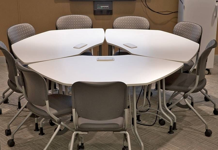 torsion chairs. ki enlite flip-top tables with torsion on the go nesting chairs