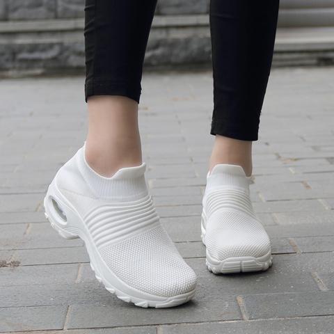 Women's Walking Shoes Sock Sneakers ( ???? Last Day of SALE DImOW