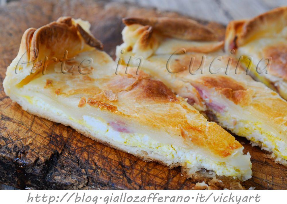 Torta Di Pasta Brisè Con Ricotta E Prosciutto Ricetta Torte