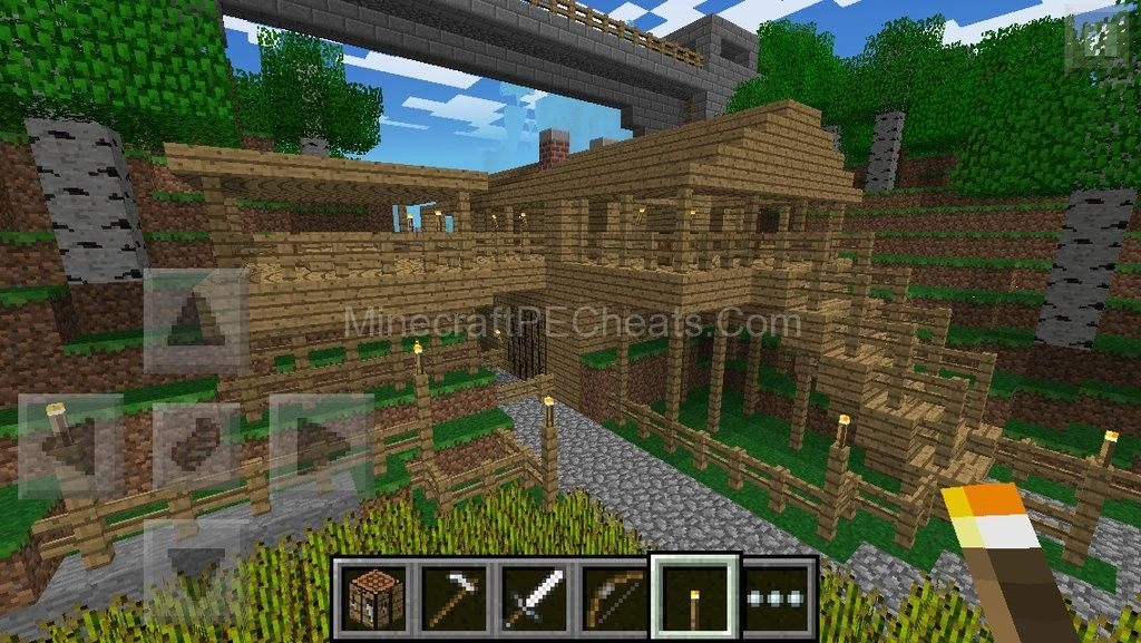 In This Post Im Going To Be Sharing With You Some House Designs For Minecraft Pocket Edition Feel Free To Use Them On Your Creative Worlds