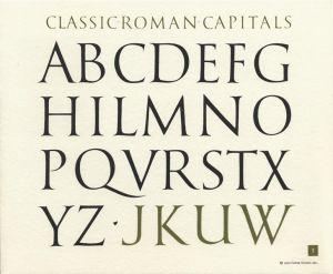Roman Capitals | Lettering Inspiration | Roman letters