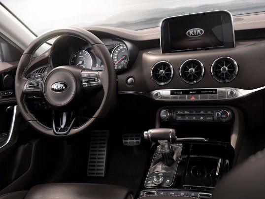Kia Has A New Car That Should Scare Bmw And Audi Kia Stinger Kia Motors Sports Sedan