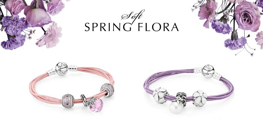 Pandora Soft Spring Flora