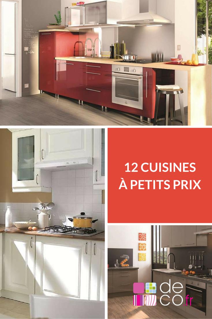 Les 12 Cuisines A Petits Prix De Brico Depot Cuisine Pinterest