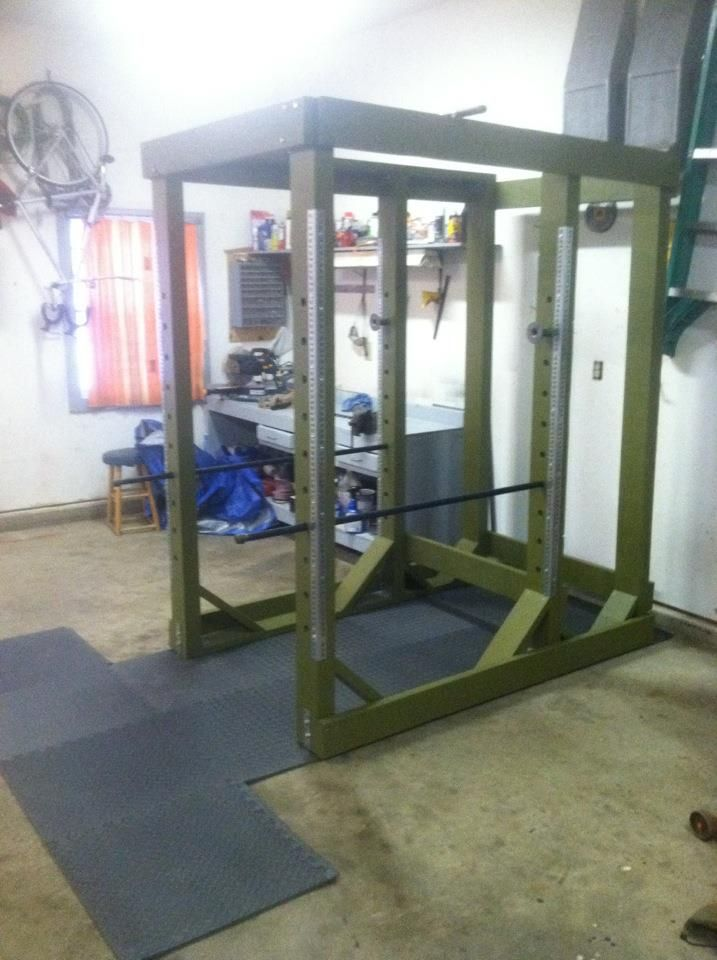 Added a titan fitness db rack to the garage gym homegym