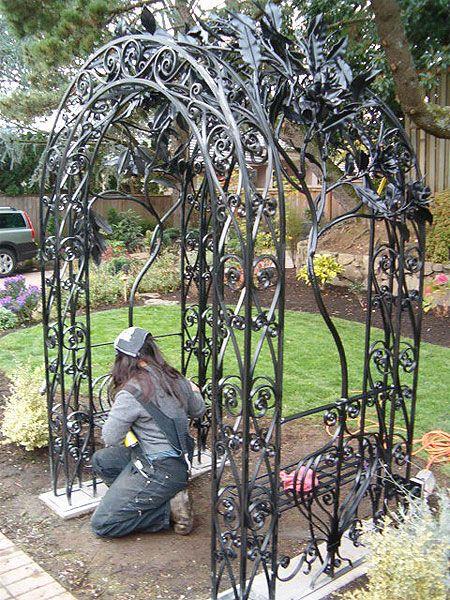 Victorian Iron Trellis Iron Trellis Iron Fence Fence