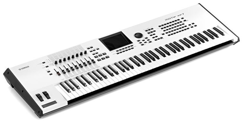 Yamaha Motif XF 7 white - Synthesizer Workstation