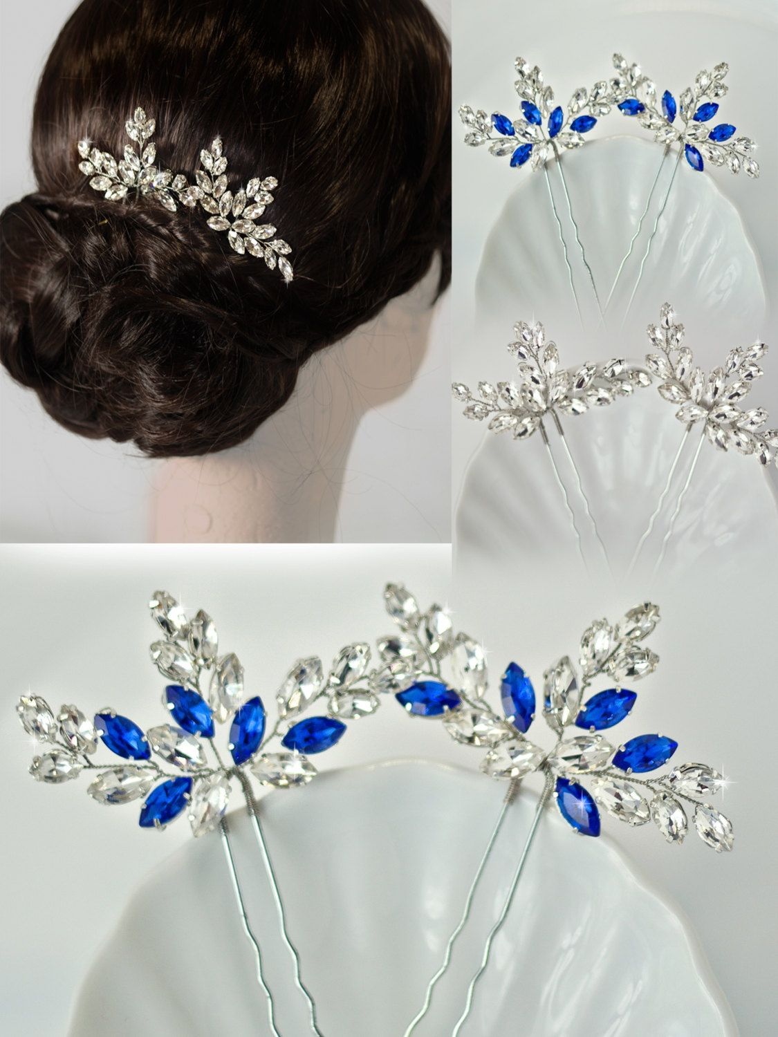 bridal hair pins crystal hair pins wedding hair pins wedding