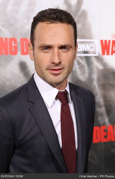 andrew lincoln looking good as all get out..i think my mouth started watering...#dressedinconfidence