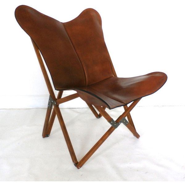 Wondrous Tripolina Butterfly Chair Premium Leather And Wood Folding Bralicious Painted Fabric Chair Ideas Braliciousco