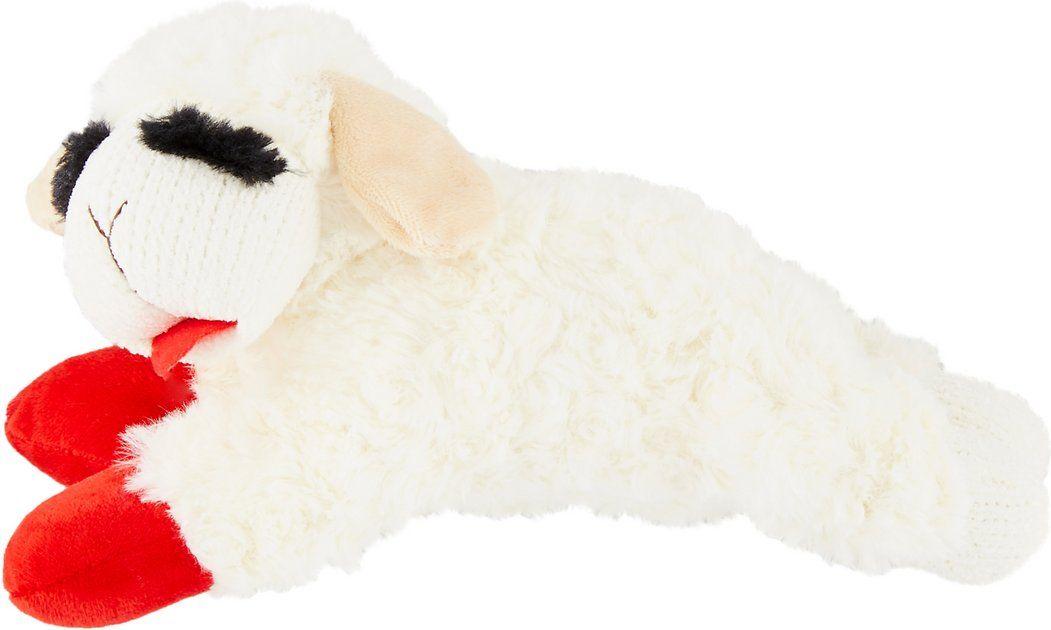 Buy Multipet Lamb Chop Plush Dog Toy Regular At Chewy Com Free