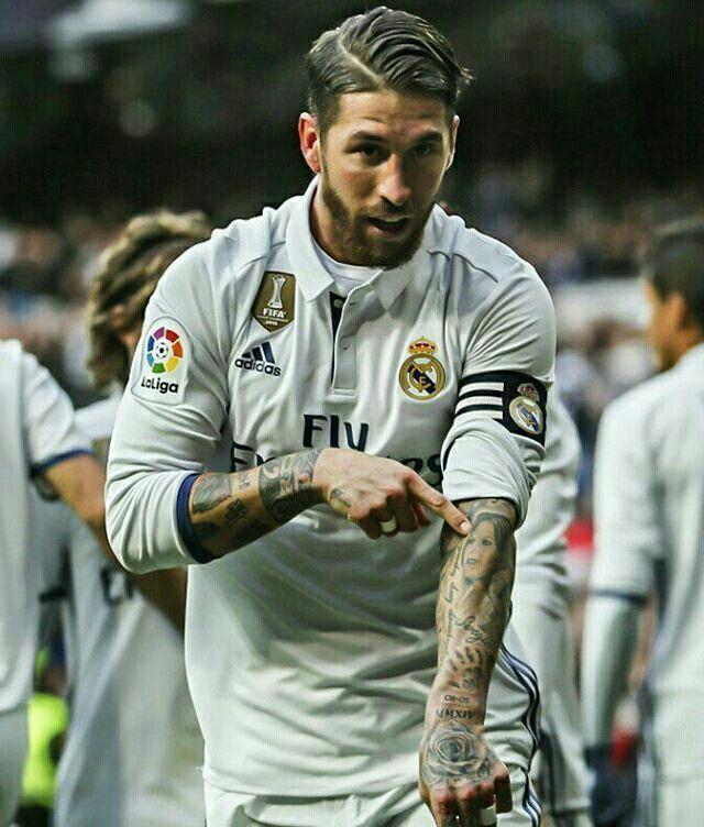 Sergio Ramos And His Mothers Tattoo Real Madrid Sergio Ramos Segio Ramos Jugadores De Futbol
