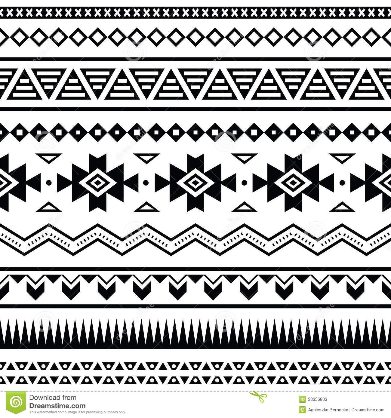 Background geometric mexican patterns seamless vector zigzag maya - Aztec Mexican Seamless Pattern Download From Over 29 Million High Quality Stock Photos Images