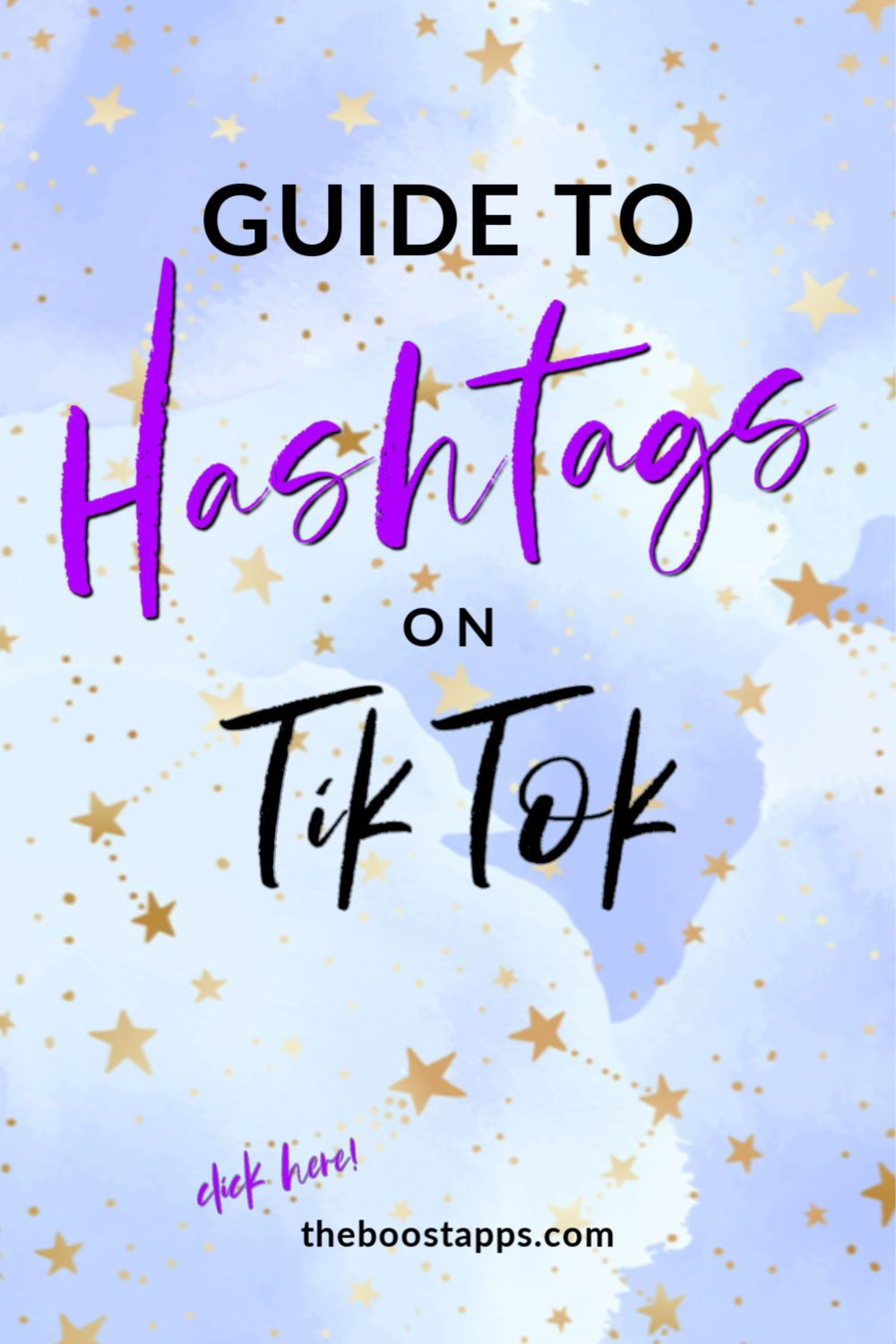 Tiktok Hashtags A Guide To Using Hashtags On Tiktok Boosted Social Media Marketing Business How To Use Hashtags Marketing Strategy Social Media