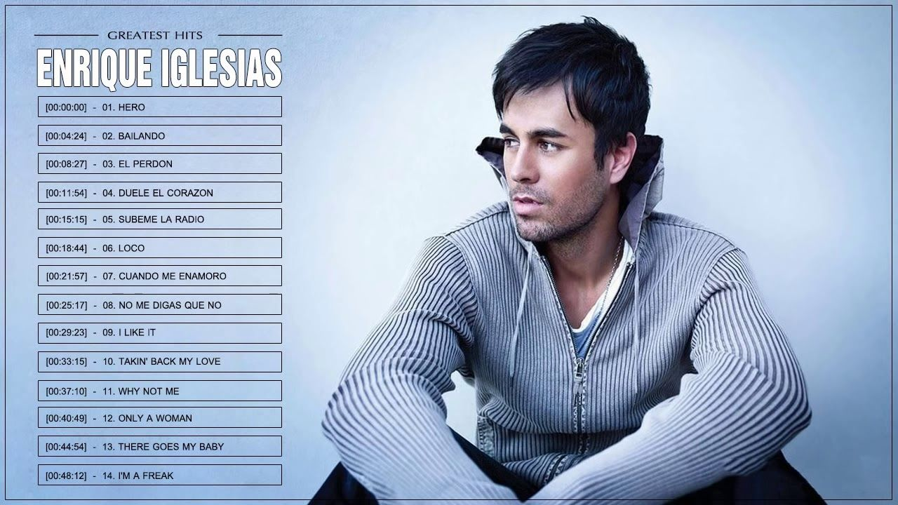 Enrique Iglesias Greatest Hits Full Album 2018 Best