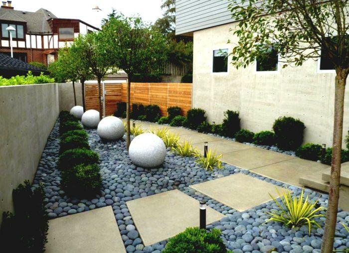 gartengestaltung mit steinen gartenwege   Gartengestaltung ...