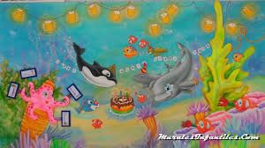 murales de cumpleaños infantiles - Buscar con Google