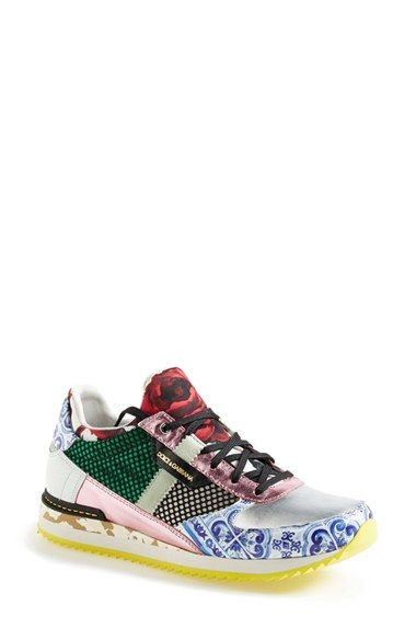 meet fcdb6 a54aa Dolce Gabbana+ Mailica +Sneaker+(Women)+available+at+ Nordstrom