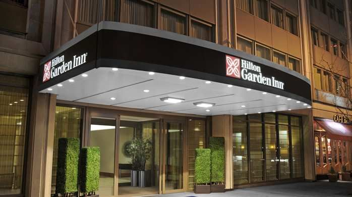 Hilton Garden Inn Times Square Hotel, New York, NY   Hotel Entrance #hotel # NYC #timessquare Great Pictures