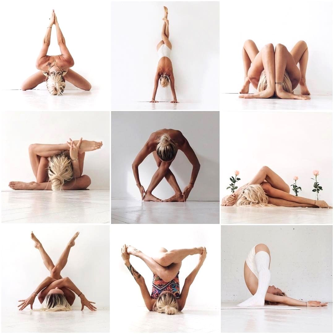 Strike it up with your Yoga Poses #balletfitness