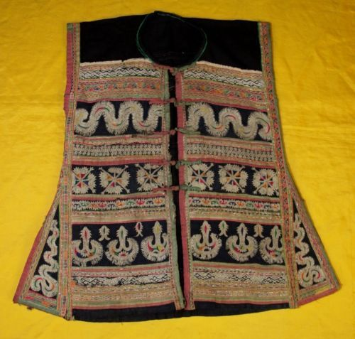 Chinese-Minority-peoples-local-cloth-hand-embroidery-Jacket-Costume