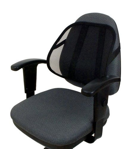 Travelon Cool Mesh Back Support System Black One Size You Can Find Out More Details At The Link Of The Image N Office Chair Back Support Office Chair Chair