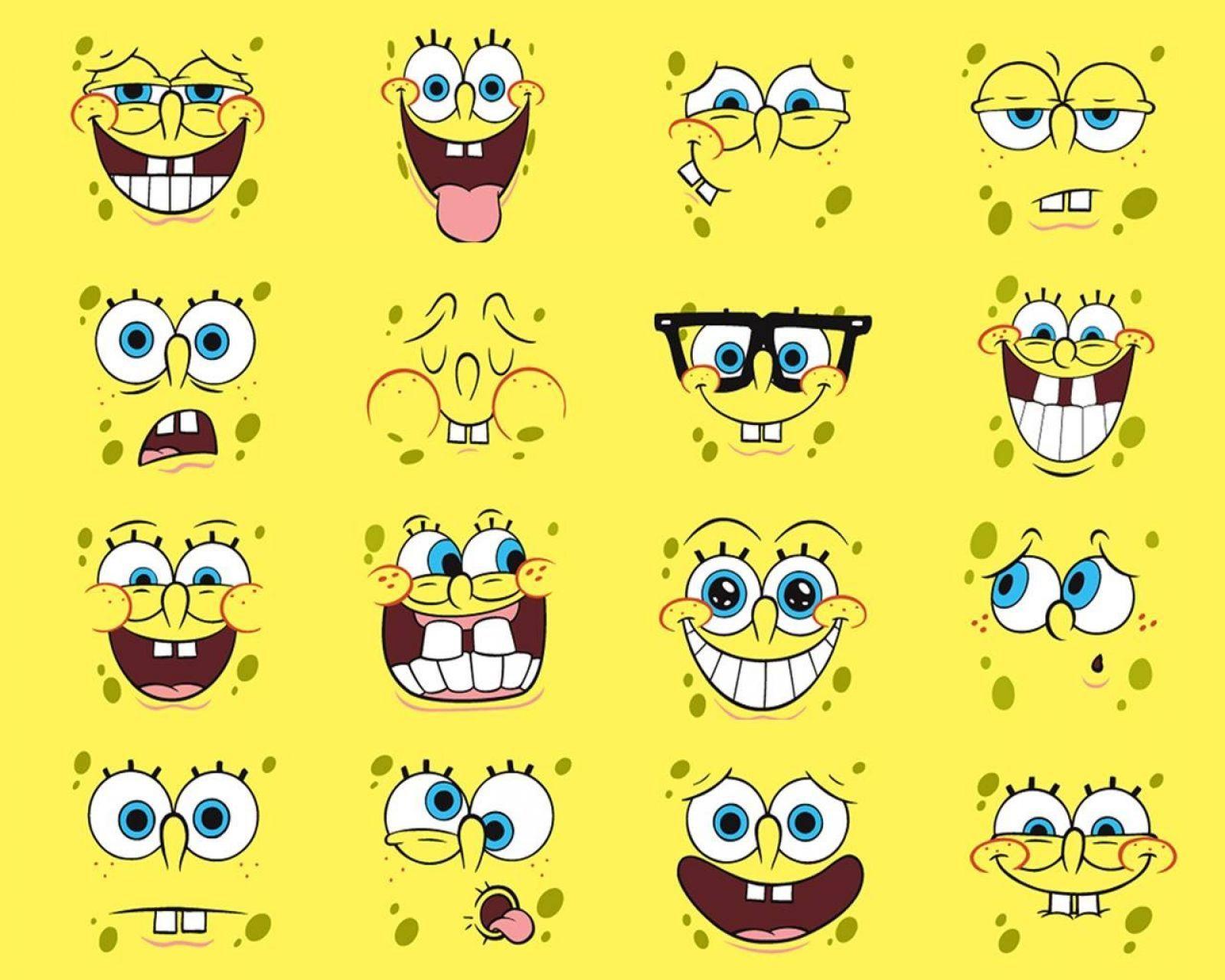 Caras De Bob Esponja Spongebob Drawings Spongebob Faces Spongebob Funny