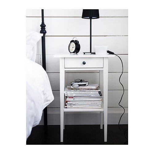 hemnes table de chevet ikea table de chevet table de. Black Bedroom Furniture Sets. Home Design Ideas