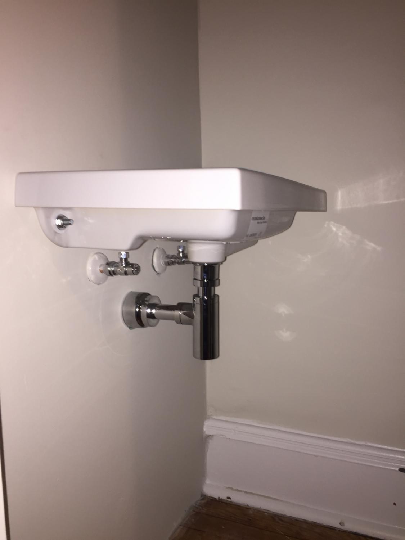 Pin By Cathy Carlisle On Modern Powder Rooms Brass Sink Sink Plumbing Accessories [ 1500 x 1125 Pixel ]