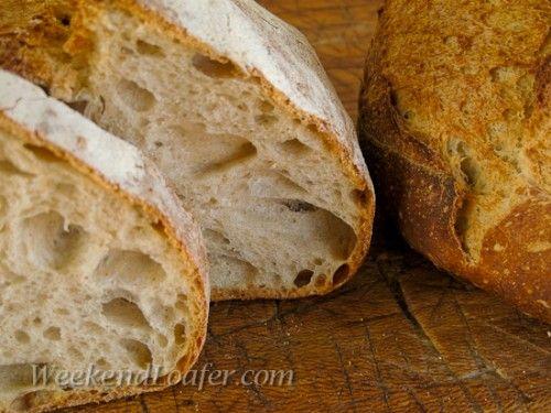 pain de campagne (sourdough)
