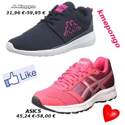 asics color rosa