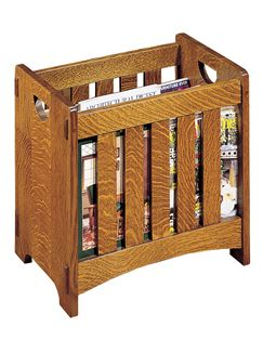 Magazine Rack Stickley Furniture Mission Style Furniture Craftsman Furniture