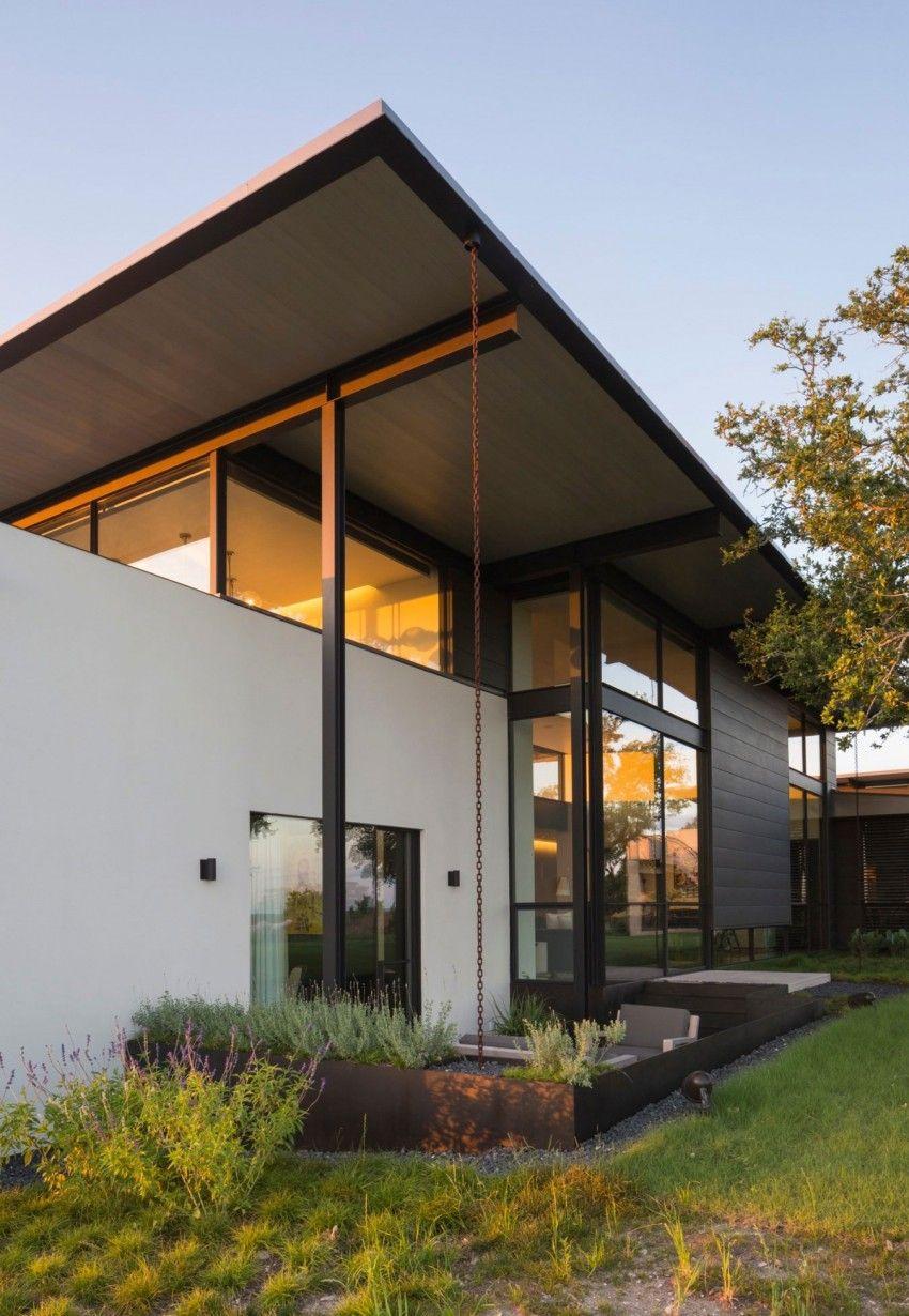 Contemporary Homes With Cedar Siding Modern Cedar Siding: SK Ranch By Lake Flato Architects