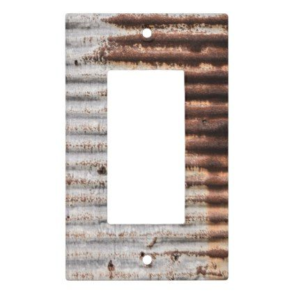 Vintage rusty metal light switch cover antique gifts stylish vintage rusty metal light switch cover antique gifts stylish cool diy custom sciox Image collections