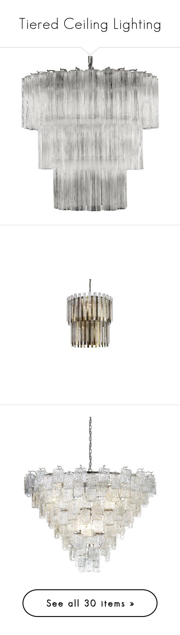 Tiered Ceiling Lighting\