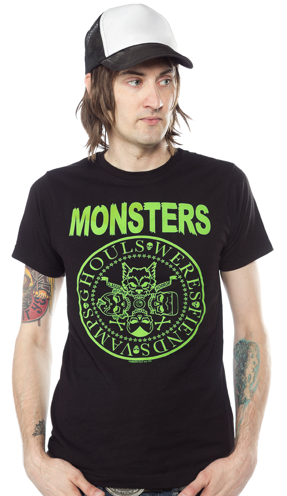 KREEPSVILLE 666 RAMONSTERS T SHIRT $25.00 #kreepsville #guys #monsters