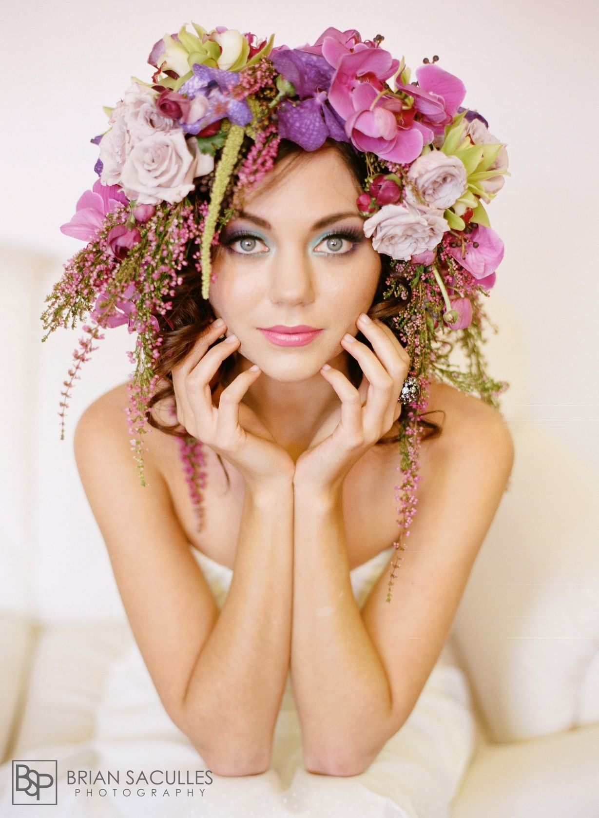 I like flowers in the hair but ya'll have to stop me if it gets to be too much!!!