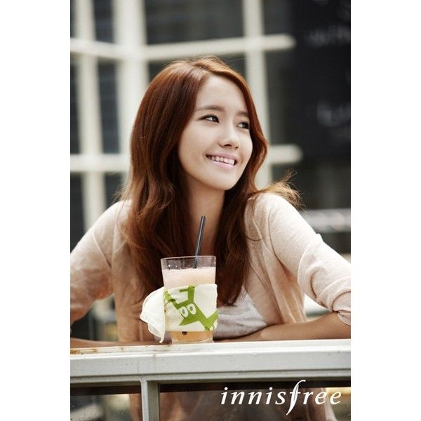 YoonA promotes the use of ECO handkerchiefs ❤ liked on Polyvore featuring snsd and yoona