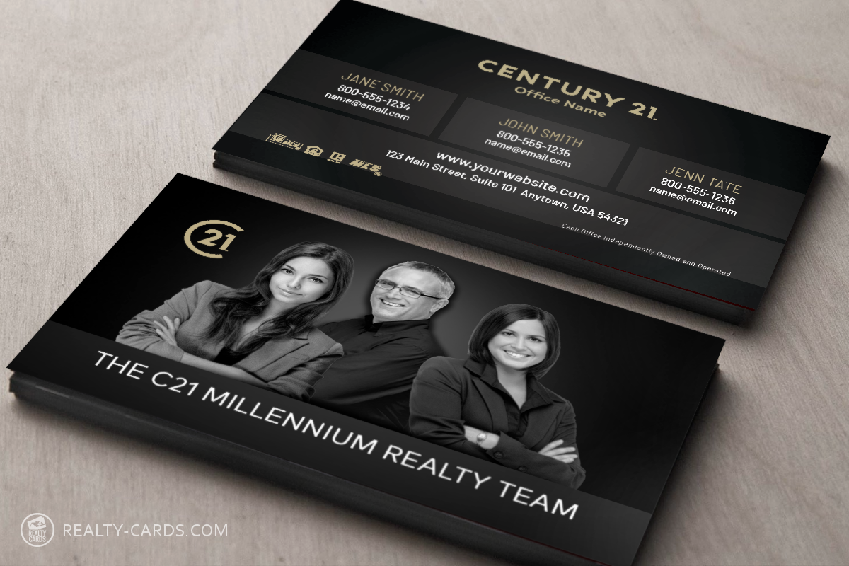 Real Estate Team Business Card Template Real Estate Agent Business Cards Realtor Business Cards Real Estate Business Cards