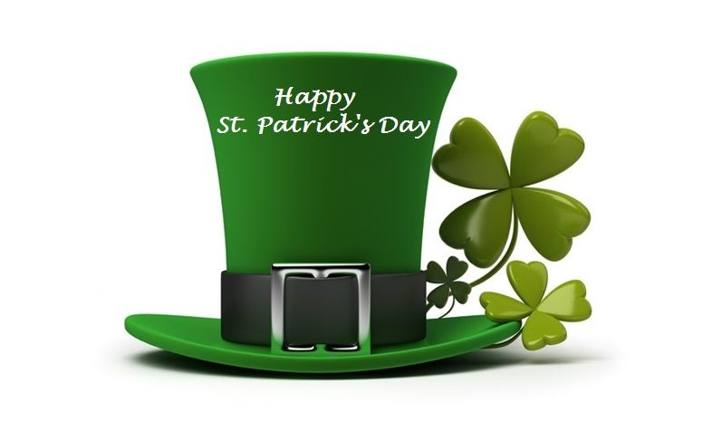 """""""Everybody's Irish on St. Patrick's Day"""". May you be touched by a bit of 'Irish Luck' today!"""