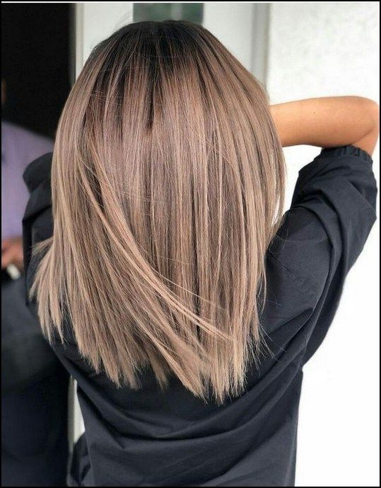 short, long straight hairstyles, straight medium length