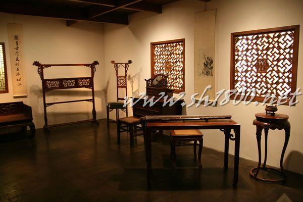 中国明式家具古代书房