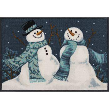 St. Nicholas Square® Vintage Snowman Rug