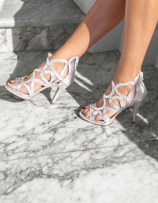 7d0ef75b7167 Sargossa Redefined Metallic Stilettos - Silver | AW17 | Silver ...