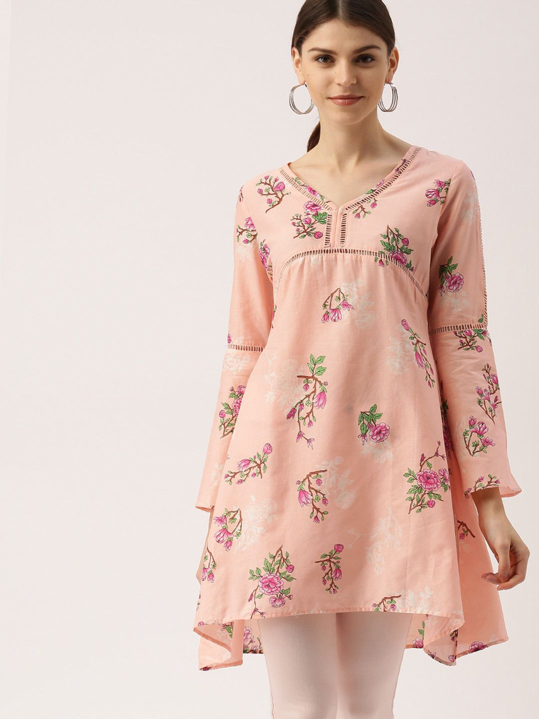 all about you from Deepika Padukone Pink Printed A-Line ...