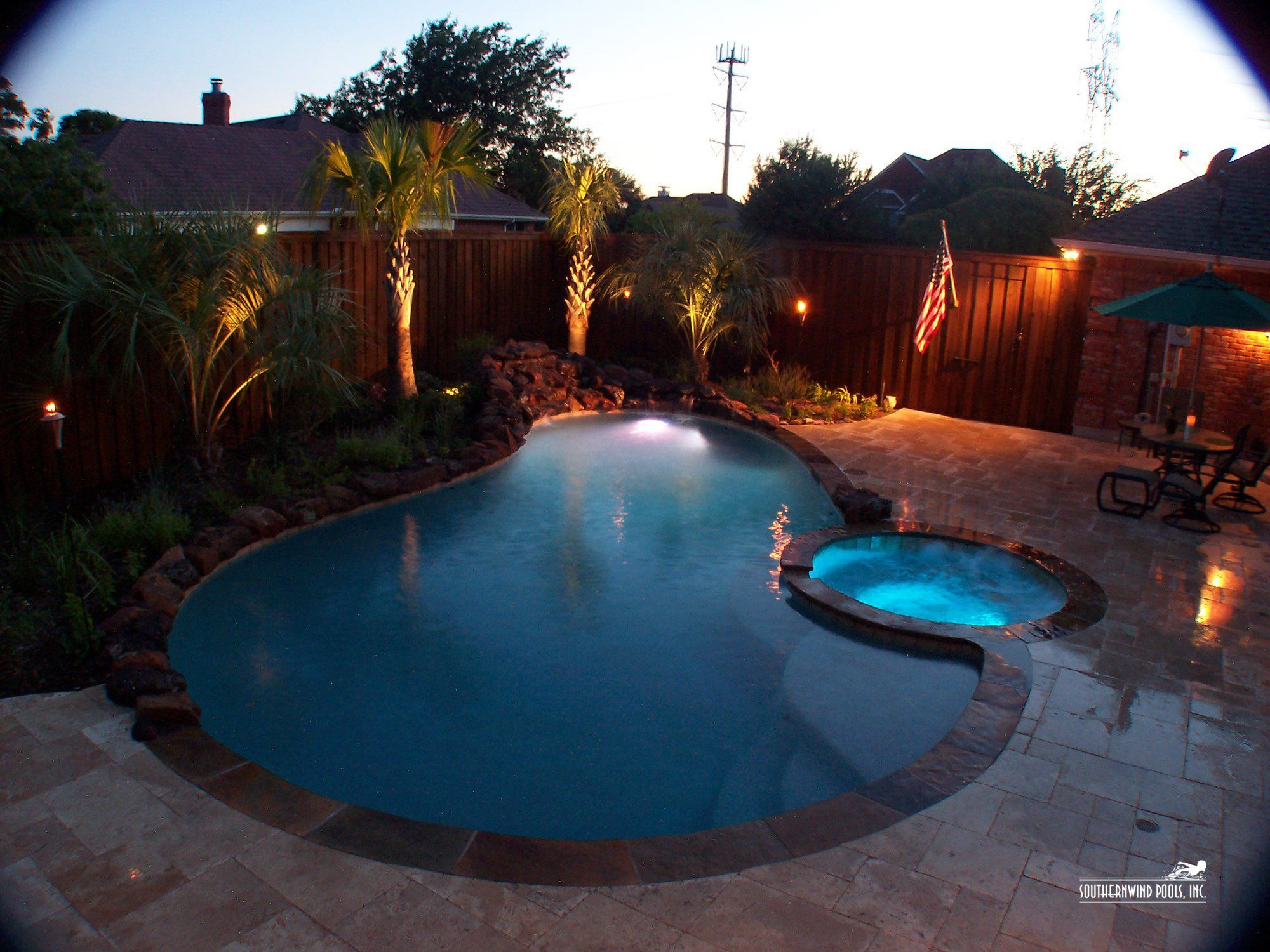 Southernwind Pools - Our Pools Natural Free Form Pools Gallery