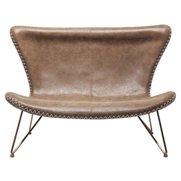sofá vintage marrón Miami | Tiendas On | Muebles estilo vintage ...