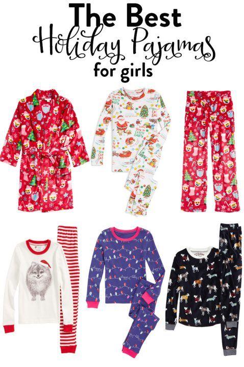 girls holiday pajamas  984bd1bf4