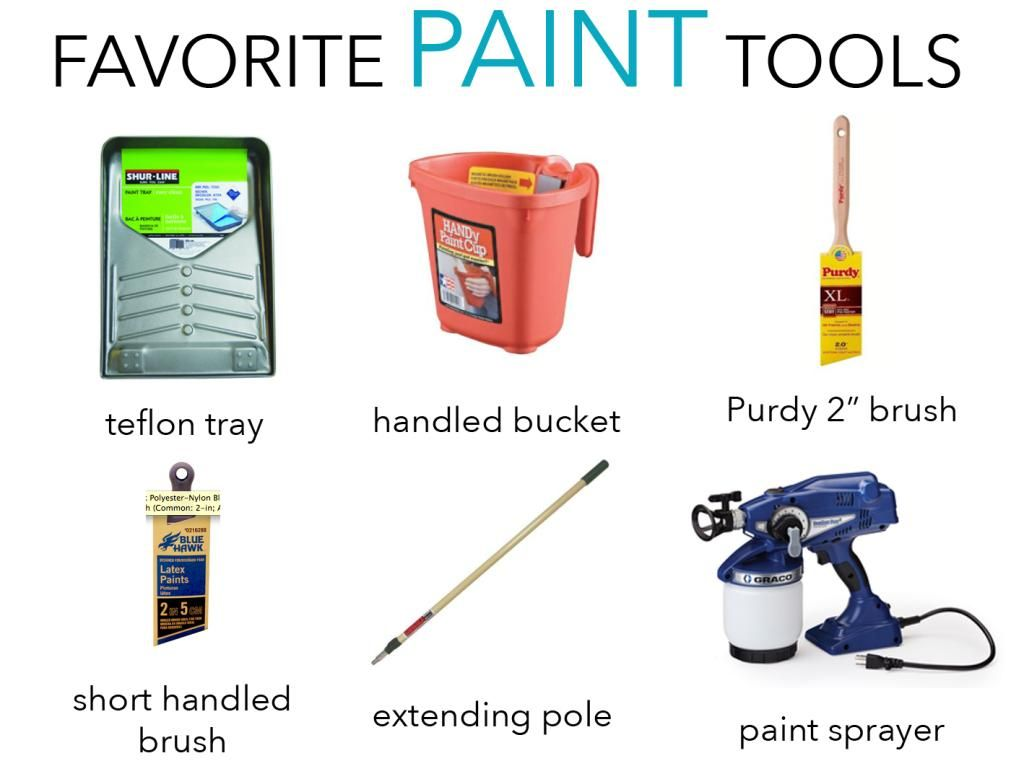 Our Favorite Tools | DIY Projects | Painting tools, Diy painting