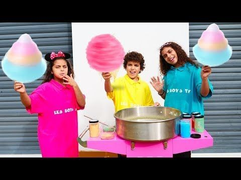 Sami Makes Cotton Candy Candy Machine Sami Makes Cotton Candy Sami Makes Cotton Candy Candy Machine سامي يصنع حل Candy Machine Sweet Meat Cotton Candy